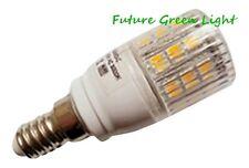 E14 Ses 24 SMD LED 240V 3,8 W 350LM alla regolazione Caldo Bianco Lampadina con coperchio ~ 50W