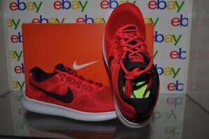 Nike Women's Free RN 2017 Running Shoe Red/Black 880840 602 See Sizes NIB