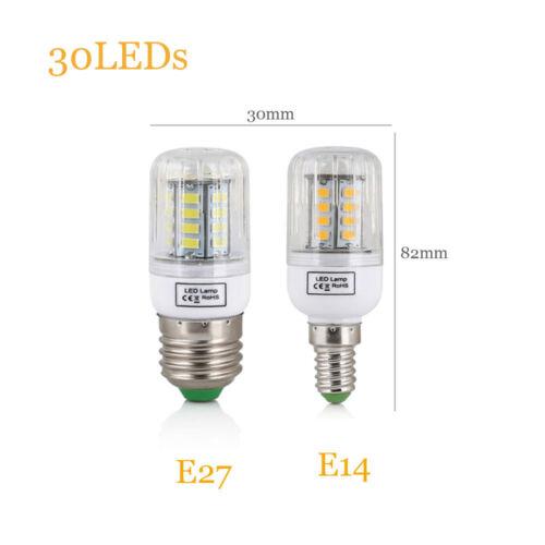 B22 E27 Corn Led Warm Cool White Light Lamp 5730 Lights Bulb Candle AC110V 220V