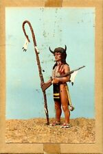 Series 77 90mm Americans Running Buffalo Plains Indian 1870-80 Figure Kit #A/42