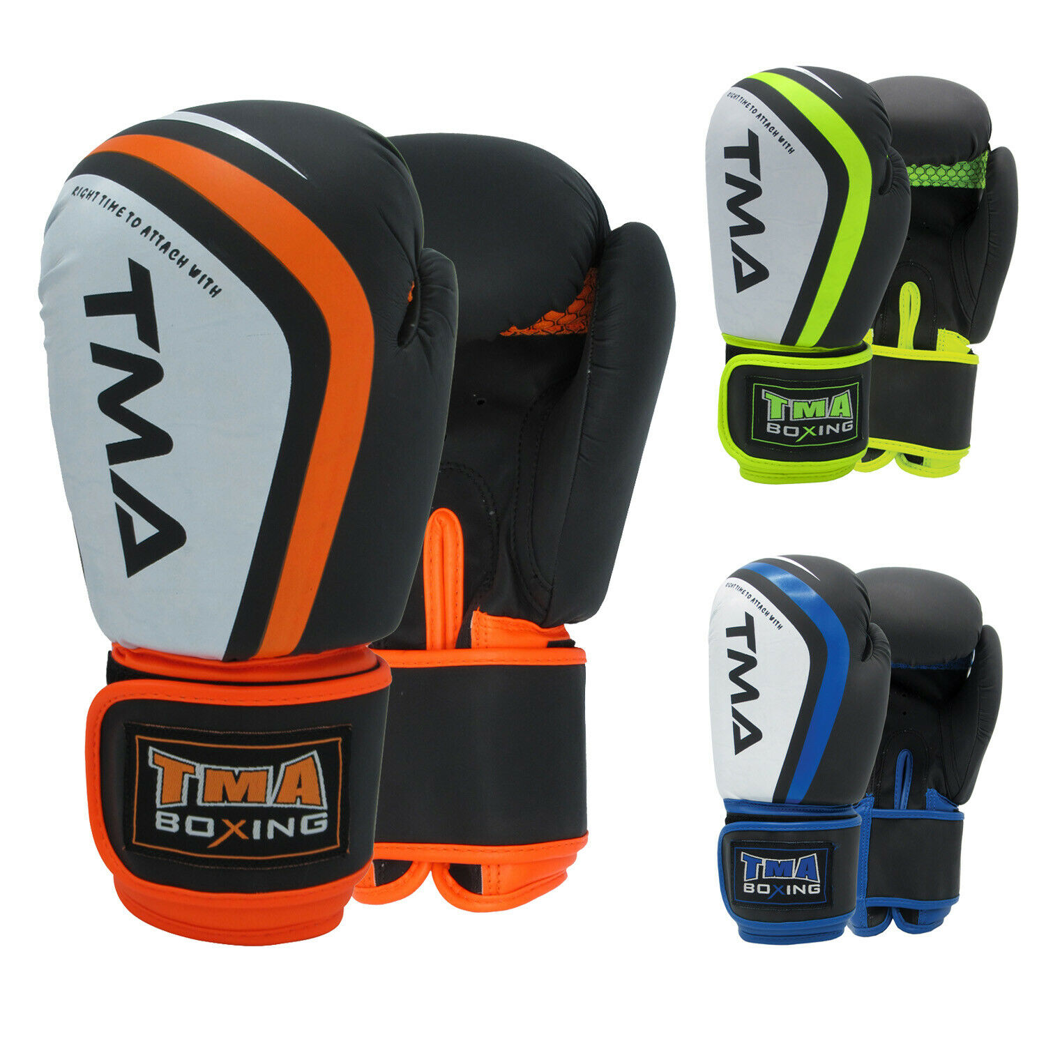 TurnerMAX Boxing Gloves Sparring Muay Thai Training Punching Bag Mitts Kickboxing Fight MMA