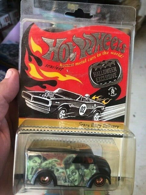 HOT WHEELS RLC Halloween Scary Dairy Delivery