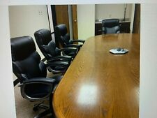 Conference Table And 8 Chairs