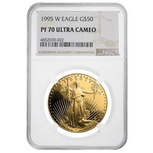 1995-W-1-oz-50-Proof-Gold-American-Eagle-NGC-PF-70-UCAM