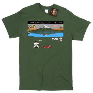 International-Karate-inspired-Game-T-shirt-Commodore-64-Spectrum-Gaming-C64