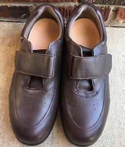 a3e3a0d58ba5 Image is loading Drew-Navigator-II-Brown-Pebble-Leather-Walking-Shoe-