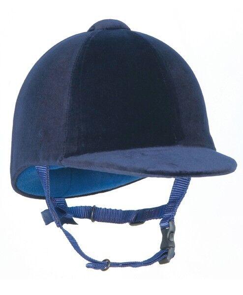 Cappello da Equitazione Champion CPX Blu Scuro 58CM