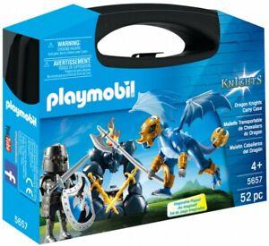 PLAYMOBIL-Knights-5657-La-valisette-chevaliers-du-dragon-NEUF