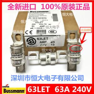 1PCS-Fast-fuse-for-BUSSMANN-63LET-63A-240V-ceramic-fuse