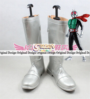 Masked Rider Kamen Rider Genm Boot Party Shoes Cosplay Boots Custom-made