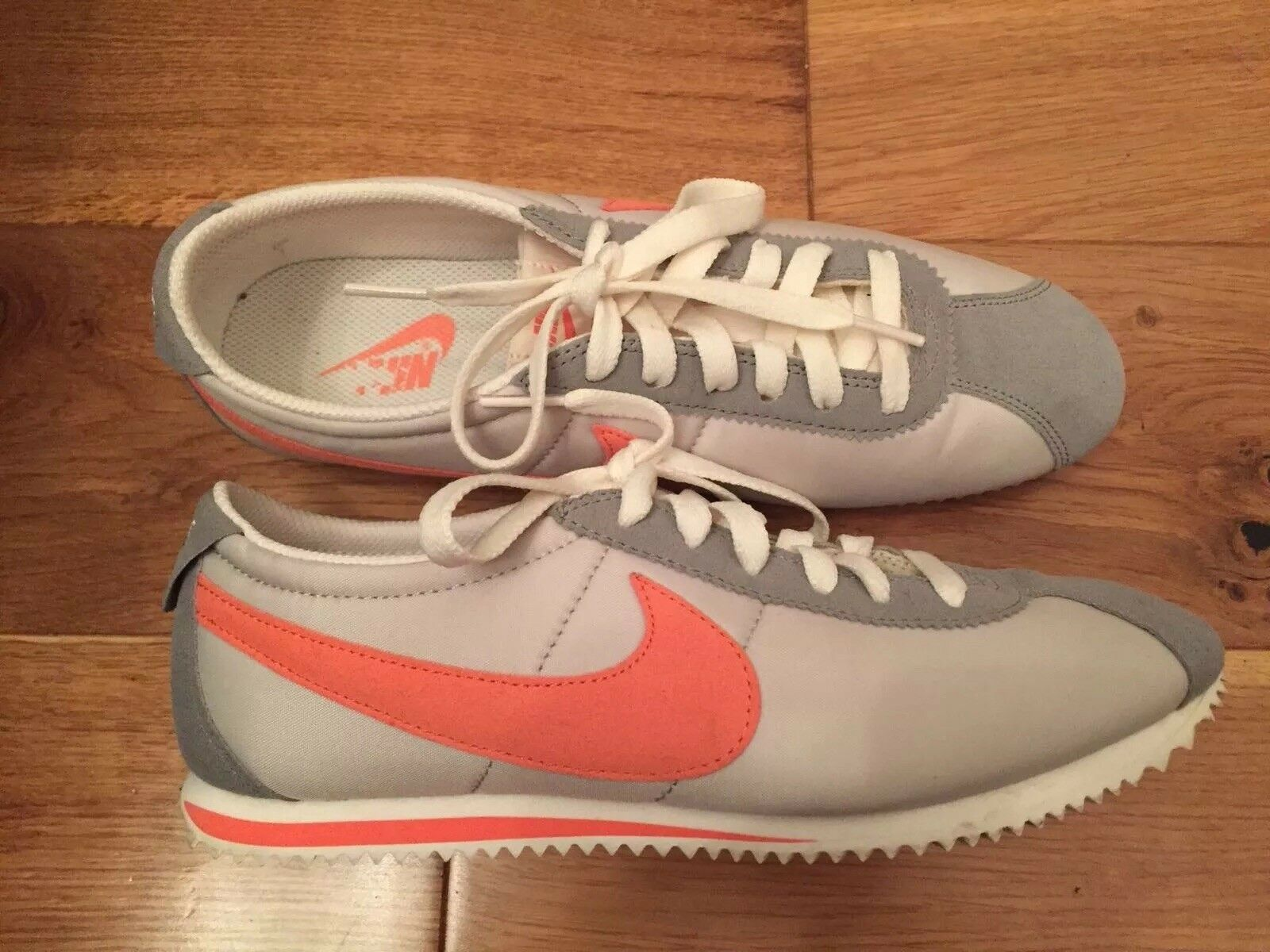 Nike Cortez Women's orange And Grey - UK Size 5.5