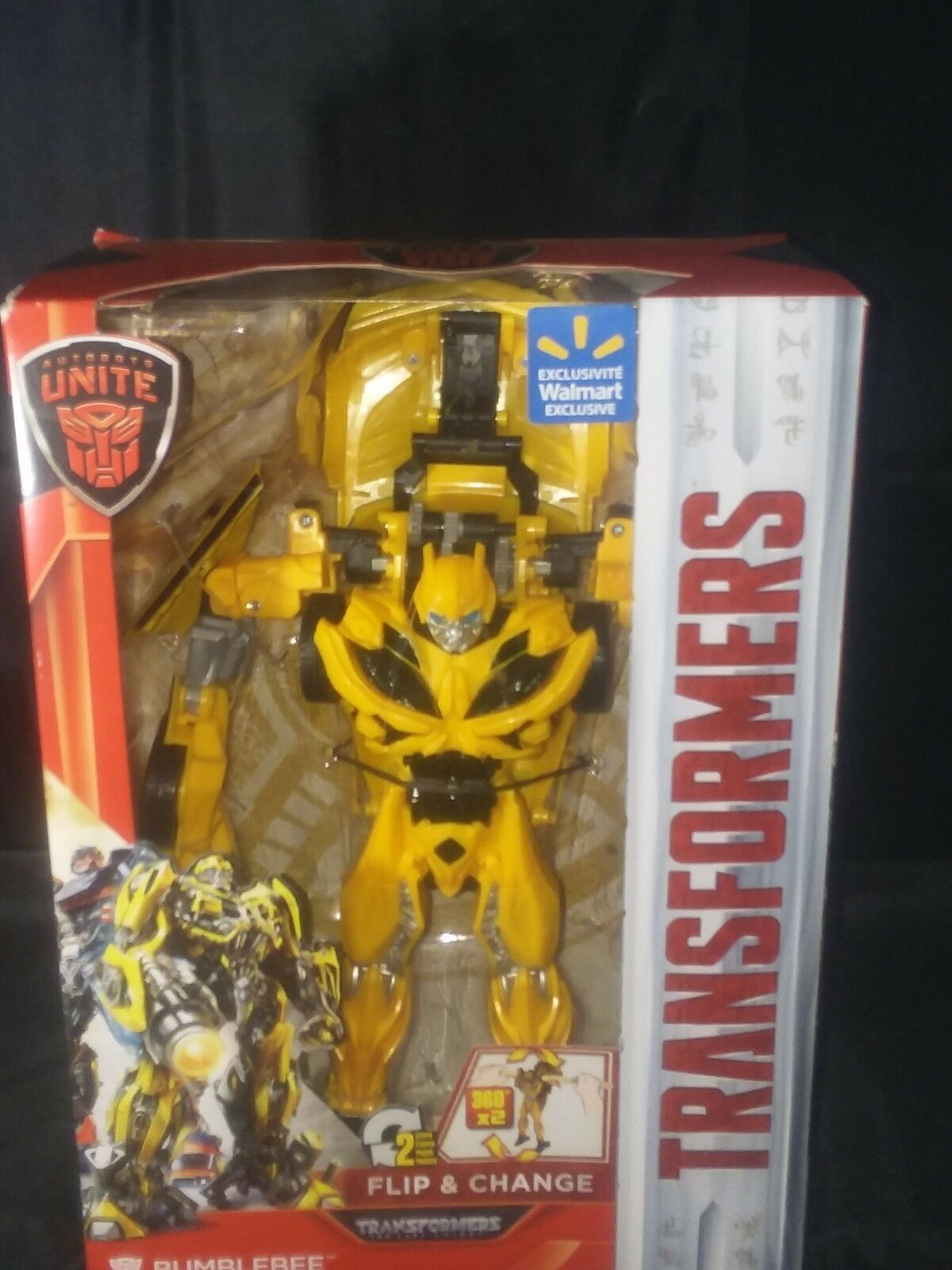 Transformers The Last Knight  Autobots Unite Flip & Change Bumblebee Mint in Box