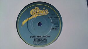 THE-NOLANS-DON-039-T-MAKE-WAVES-7-034-VINYL-SINGLE