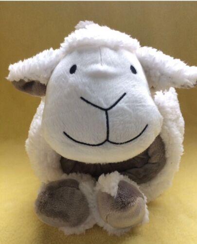 SHEEP BABY BOYS NURSERY THROW BLANKET WITH SHERPA PLUS PILLOW 2 PCS