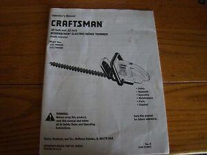 craftsman brushwacker manual