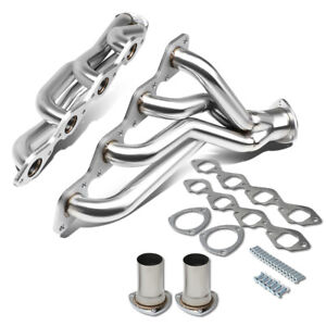 Details about Fit Big Block 396/402/427/454/502 Stainless Exhaust Manifold  Shorty Race Header