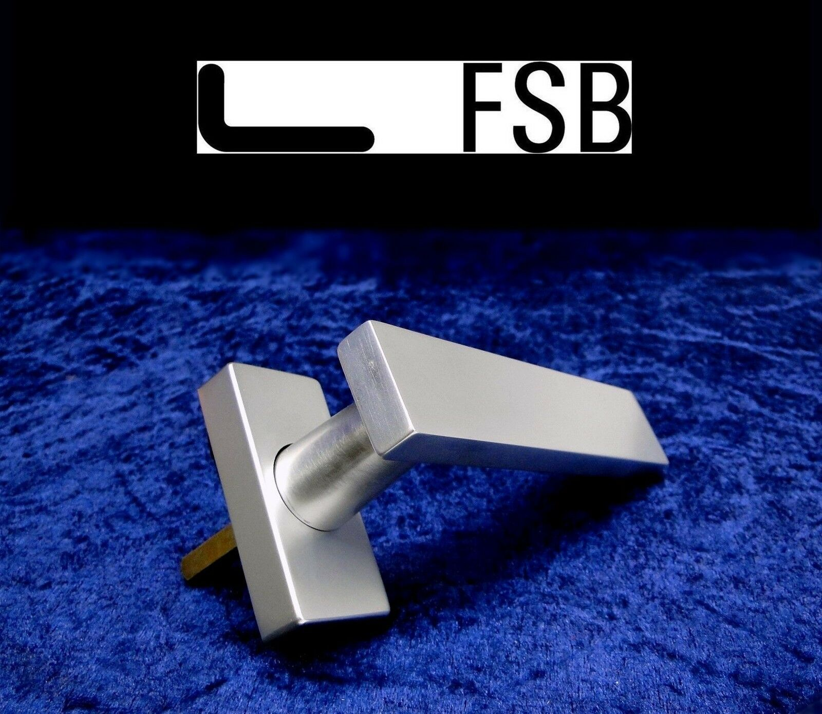 5x Fenstergriffe FSB 34-1003 Alu. Stiftlänge 37mm Fensterbeschlag Fensterolive