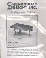 Gate-leg Table - Chippendale Dollhouse Furniture Kit Housework- 1/12 Scale 13015
