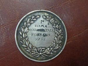 MEDAGLIA-FOSSANO-TIRO-A-SEGNO-NAZIONALE-1890-DIAMETRO-3-9-cm-NUMISMAT-SUBALPINA