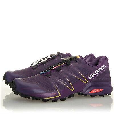 Salomon Speedcross Pro Cosmic Purple Trail Running Shoes Womens Size 10.5 B 889645075754 | eBay