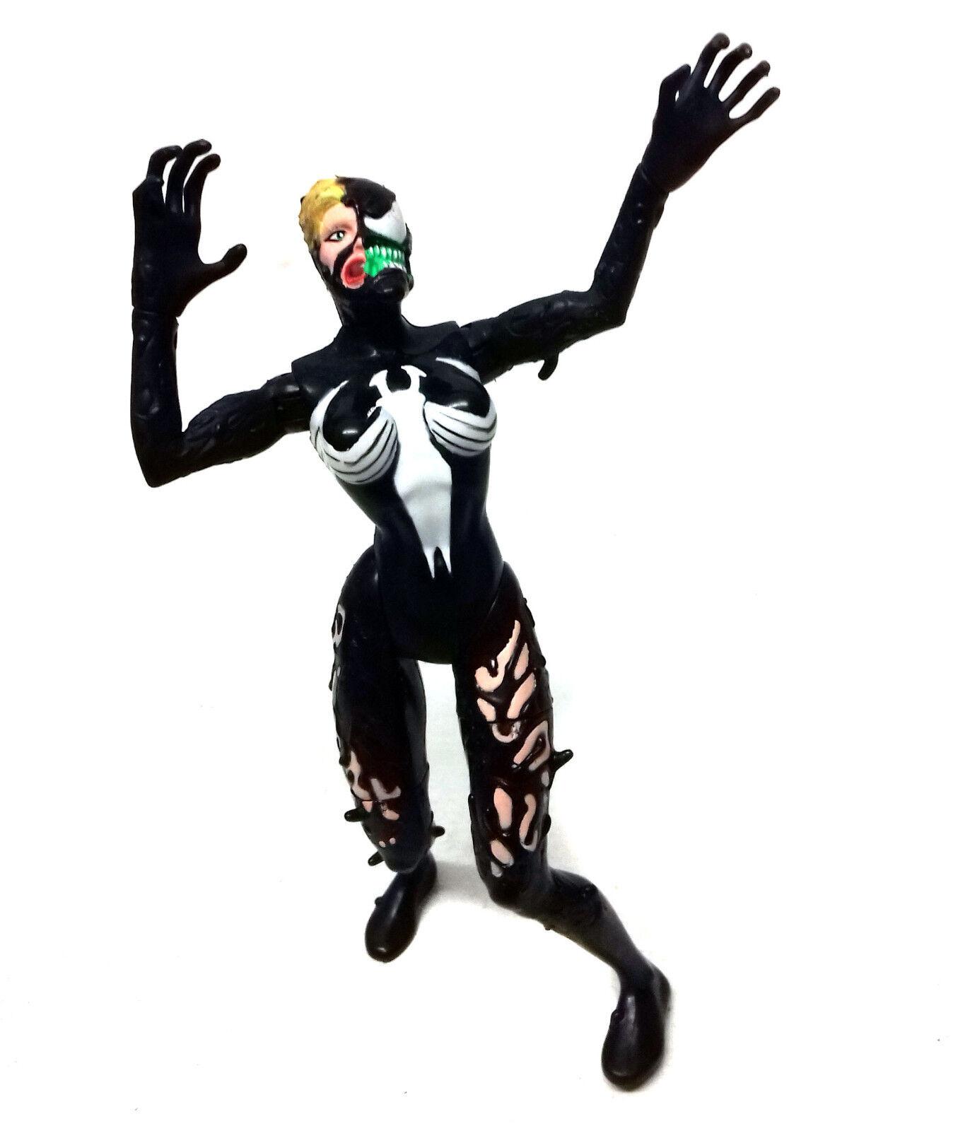 Vintage Marvel Comics Spiderman VENOM Symbiote Series BRIDE 6  figure toy rare