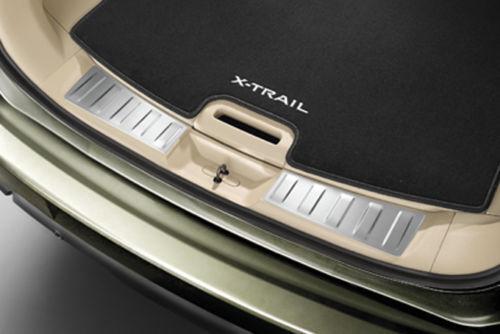 NISSAN Genuine New X-TRAIL t32 Bagagliaio Posteriore Entry Protezioni in Alluminio ke9674c520