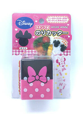 Minnie Mouse Head Shaped Japanese Seeweed Punch Cutter