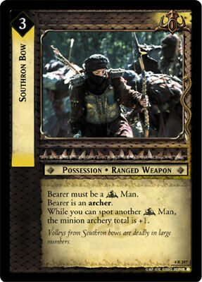 LOTR Southron Assassin The Two Towers Lord of the Rings TCG Moderately Played