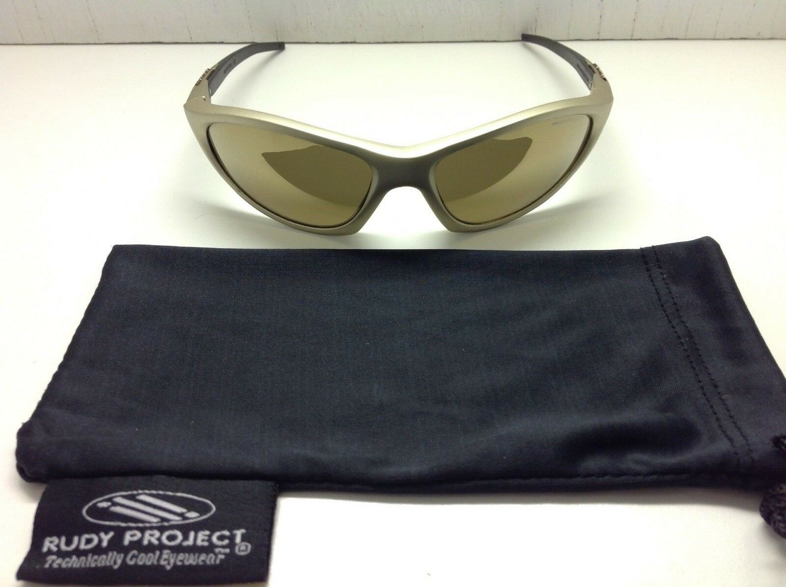 RUDY  PROJECT METYS PLATINUM SUNGLASSES W  LASER BRONZE LENSES     NEW    RARE     professional integrated online shopping mall