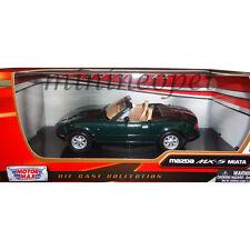 MOTORMAX 73262 MAZDA MX 5 MIATA 1/24 DIECAST MODEL CAR GREEN