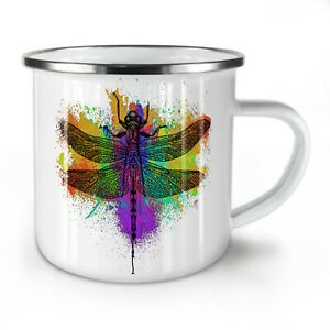 Colorful Insect Animal NEW Enamel Tea Mug 10 oz   Wellcoda