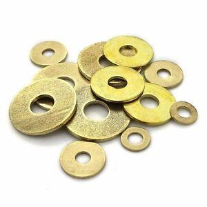 Brass Flat Washers GB97 M2 M3 M4 M5 M6 M8 M 10 M12 M14 M16 ...