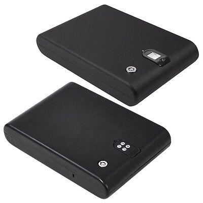 Digital Gun Security Safe PIN Code Keypad Lock or Biometric Fingerprint Box Opt.