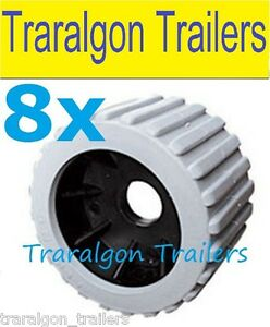 8x-grey-wobble-roller-ribbed-rubber-boat-jet-ski-trailer-110mm-x-75mm-G27