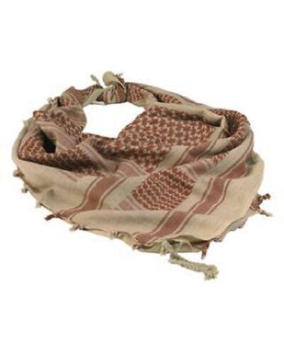 Outdoor Shemagh OLP Pali Tête Chiffon Foulard Scarf KUFIYA foulard écharpe Coyote Brown