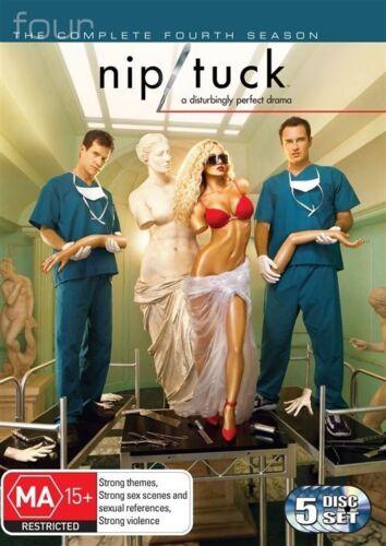 1 of 1 - Nip/Tuck : Season 4 (DVD, 2008, 5-Disc Set) region 4