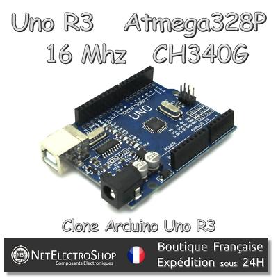 Prezzo Basso Uno R3 - Dev. Board - Atmega328p Mega328p - Ch340 Ch340g - Clone Arduino Uno R3