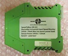 Electro Sensors C143717 Speedtalker Dn Ui Device Net Speed Monitor Relay Module