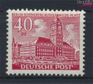 Berlin-West-52-postfrisch-1949-Berliner-Bauten-9223643