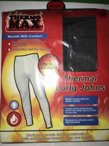 1 Pack Di Da Uomo Termico Lungo John Spazzolato Biancheria Intima Con Trappola Calore