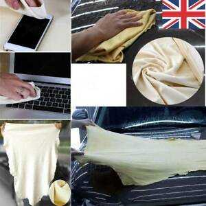 Car-Cleaning-Washing-Chamois-Leather-Cloth-Extra-Large-Absorbent-Drying-Towel-UK
