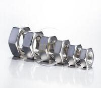 A4 MARINE GRADE Stainless Steel Hex Head Full Nuts M12 (12mm Internal Diameter)