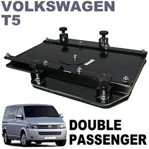 Kiravans Vw T5 Double Seat Swivel Uk Right Hand Drive