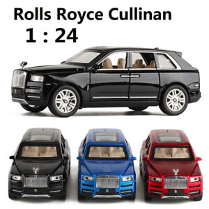 1 24 Scale Rolls Royce Cullinan Diecast Toy Cars Hot Wheels Metal Car Model Ebay