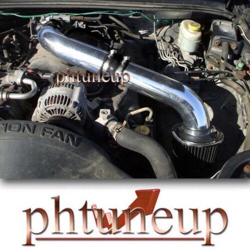 FILTER BLACK 1999-2004 JEEP GRAND CHEROKEE 4.7 4.7L H//O V8 AIR INTAKE KIT