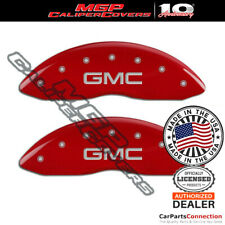Mgp Caliper Brake Cover Red 34207fgmcrd Front Only For Gmc Sierra 1500 2013 2007