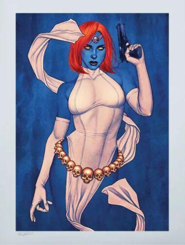 Mystique HAND SIGNED Jenny Frison SOLD OUT Sideshow Exclusive X-Men Art Print