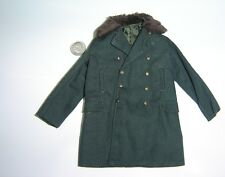 3R WWII German Officer Otto Gille jacket w/fur 1/6 toys DID Dragon Bbi coat