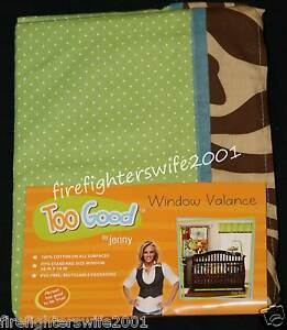 Too Good by Jenny McCarthy Pretty in Pink Window Valance