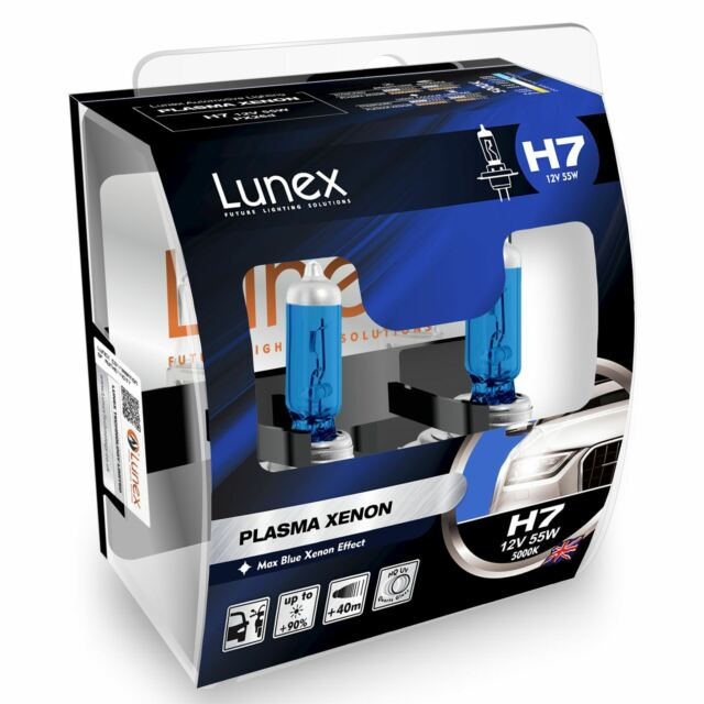 Lunex H7 Plasma Xenon 12v Replacement Upgrade Car BULB Twin